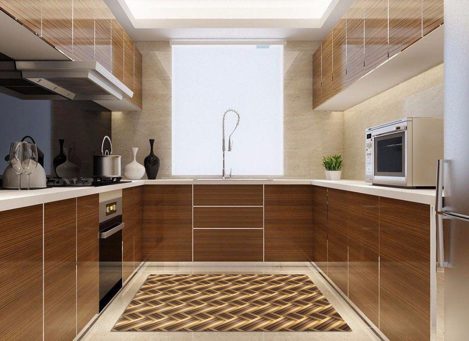 3D Ripple 62 Kitchen Mat Floor Murals Wall Print Wall AJ WALLPAPER UK Kyra