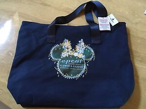 Disney-Epcot-Flower-And-Garden-Tote-Bag-New