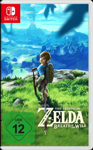 The Legend Of Zelda: Breath Of The Wild (Nintendo Switch, 2017, DVD-Box)