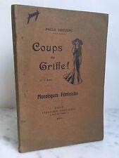 Paul Leclerc coups de griffe Monologues féministes 1912