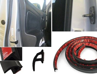 13ft/4M P-shape Car Truck Motor Door Rubber Seal Strip Weatherstrip Seals Hollow