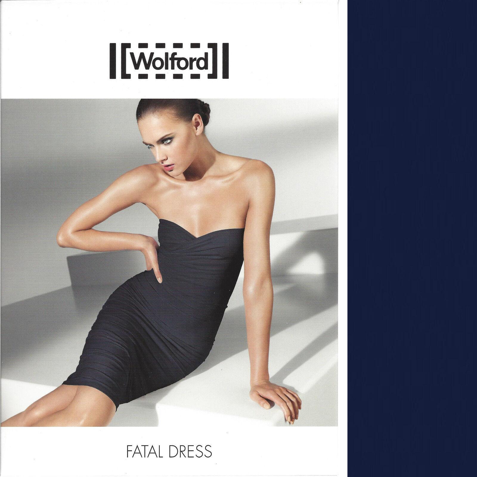Wolford Fatal Dress - L - navy -  als Kleid Rock oder Top - Verwandlungskünstler
