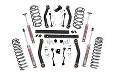 "Rough Country 4.0"" Suspension Lift Kit Jeep Wrangler TJ 4WD 906S"