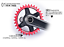 96BCD Bike Chainring Round Oval Chainwheel Disc For SLX M7000 XT M8000 XTR M9000