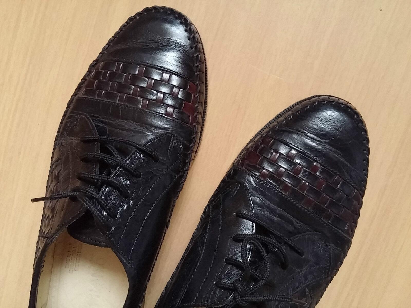 Herren 41 Schuhe Schnürer FILANTO Gr 41 Herren schwarz Leder Top 26251f
