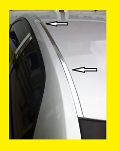 honda civic chrome roof trim molding kit  door sedan ebay