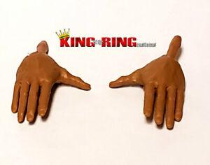 Details about  /WWE Wrestling Mattel Elite MMA Gloves Hands Accessory Lot Set of 2 Custom Fodder