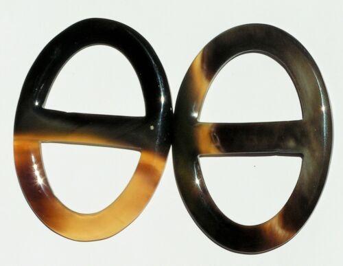 VHSR05XL SCARF RING Organic Buffalo Horn Handmade Woman Accessories