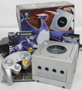 Game-Cube-POKEMON-DARK-LUGIA-Limited-Console-System-DOL-101-JP-For-Japan-game-CD