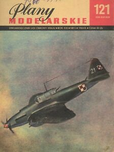 Airplane modeling plans- IŁ-2