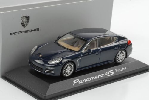 1:43 Porsche Panamera 4S dunkelblaumetallic Executive Minichamps WAP