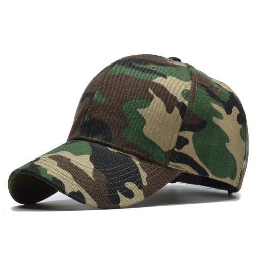 Gorras Camuflaje de Hombre para Mujer Unisex Gorra de Moda Color