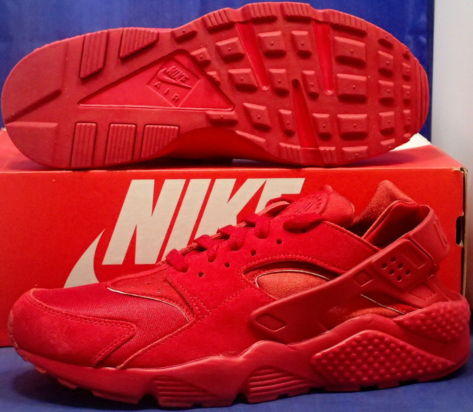 Nike air huarache huarache huarache correre id rosso sz 9,5 (777330-983) | Rifornimento Sufficiente  | Uomini/Donna Scarpa  61b8ec