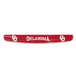 Inlaid FANMATS NCAA University of Oklahoma Sooners Plastic License Plate
