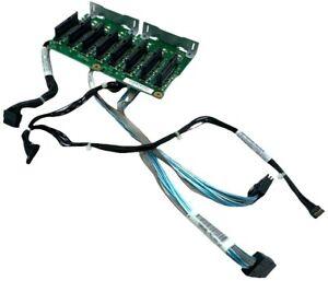 "IBM x3650 M3 69Y0650 8x2.5"" SAS/SATA Hot-Swap Drive Backplane w/ Cables 94Y6670"