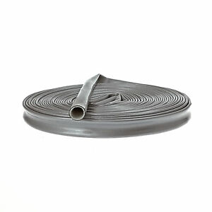 Heat-Fire-Flame-Thermo-Sleeve-Shield-For-Fuel-Oil-Hose-12mm-ID-SILVER-1M