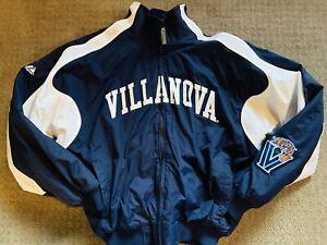 Villanova-Wildcats-MAJESTIC-Lined-Jacket-Pre-Owned-Never-Worn-Mens-Medium
