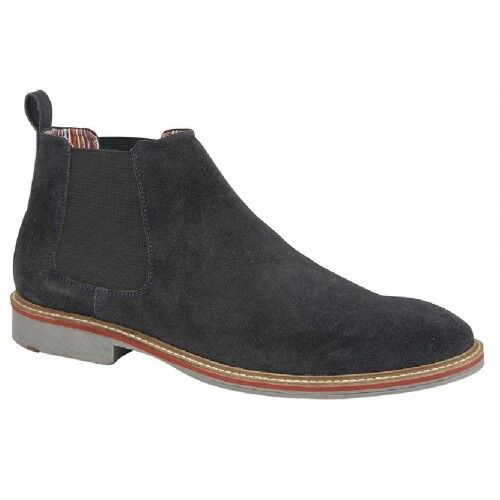 Roamers Suede Suede Suede Leather Twin Gusset Ankle Chelsea botas 36409c