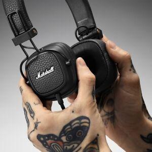 New Bluetooth Headphones Marshall Major3 III Mic HIFI Noise Cancelling Deep Bass