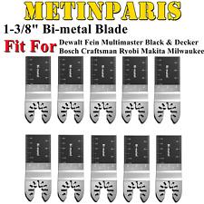 10 Pcs Bi Metal Oscillating Multi Tool Replacement Blade For Dewalt Bosch Fein