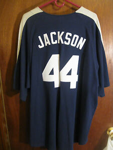 factory price df42c cf4b1 Details about REGGIE JACKSON NEW YORK YANKEES NIKE JERSEY XL(SEWN ON NAME &  NUMBERS)