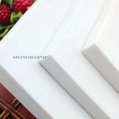 1 X Carving Block Rubber DIY Your Own Stamp Handcraft 15cmX10cmX0.8cm White New
