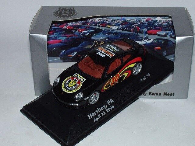 Hershey 2006 PORSCHE 911 (997) Carrera 4s  30th Anniversary  1 43, PROMO PCA, RAR