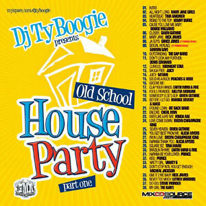 DJ-TY-Boogie-Old-School-House-Party-PT-1-Mix-cd-CLASSICA-ANNI-039-80-R-amp-B-e-Funk