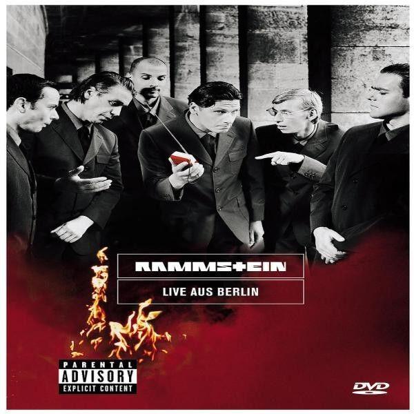 """RAMMSTEIN """"LIVE AUS BERLIN"""" DVD NEUWARE EIN MUSS!!!!!!!"""