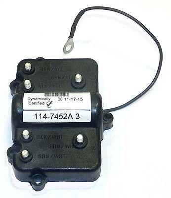 Mercury Mariner 2 Cylinder Switch Box 114-7452A3