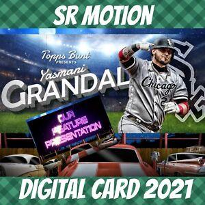 Topps Bunt 21 Yasmani Grandal Drive-in Color Super Rare 2021 Digital Card