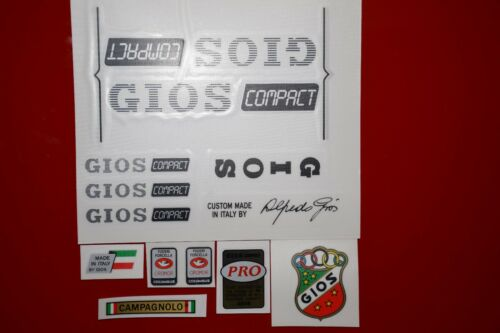 GIOS Compact PRO set decals