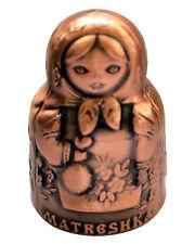 Matriochka Dé à coudre collection Poupee russe Dé à coudre collection Matriochka