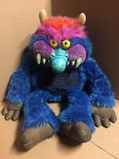 My Pet Monster AMTOY 1985 Plush No Hand Cuffs & My Pet Monster Book