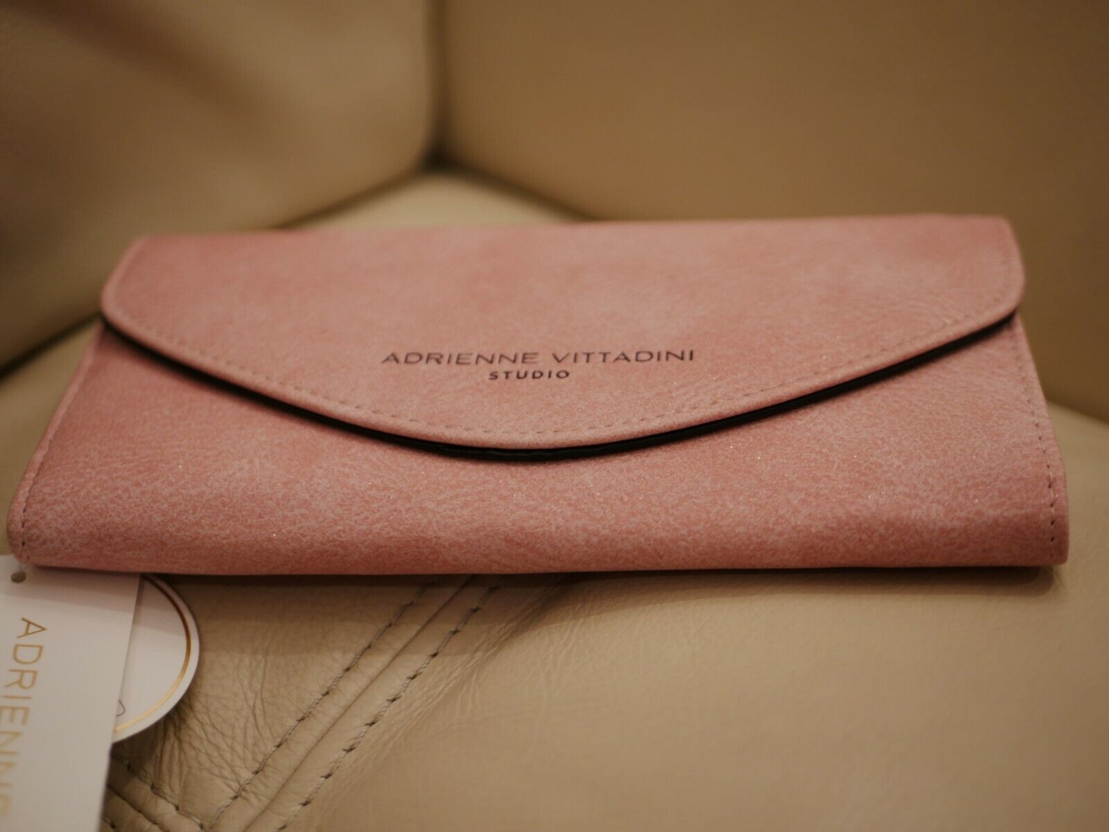 First sold out Adrienne Vittadini Womens Pink Faux Leather Shimmer ...