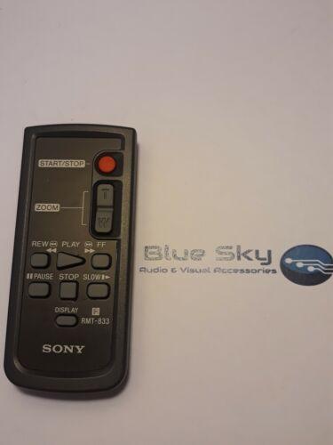 Genuine Sony RMT-833 control remoto inalámbrico IR Cámara Videocámaras Original
