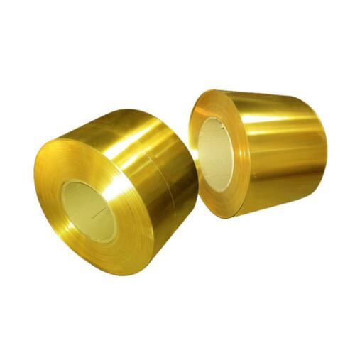 Messing Dünnen Blech 0.05x200x1000mm Messingplatte Messingfolie
