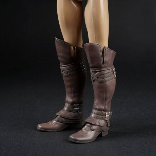 "1//6 Scale Boots Shoesl With Feet For 12/"" Male Action Figure Body Accessories"