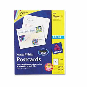 Avery-Postcards-for-Inkjet-Printers-4-1-4-x-5-1-2-Matte-White-4-Sheet-200-Box