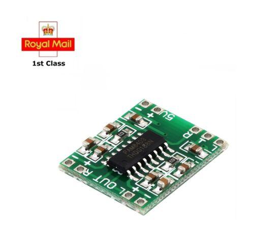 Mini 5V Digital Power Amplifier Board PAM8403 Class D 2x3W 2 PCS