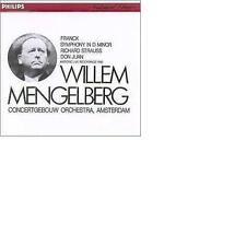 FRANCK Symphony in D minor STRAUSS Don Juan Willem Mengelberg /Cgb PHILIPS JAPAN
