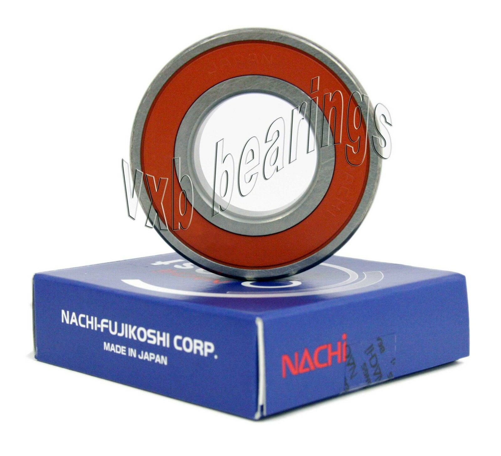 6002-2NSE Nachi 15x32x9 15mm//32mm//9mm Sealed Radial Ball Bearing Made in Japan