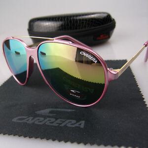 a6c88a34bd01df New Men Womens Retro Sunglasses Unisex Aviator Matte Frame Carrera ...