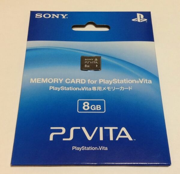 SONY PS VITA Memory Card 8 GB Japan Playstation Psvita PSV