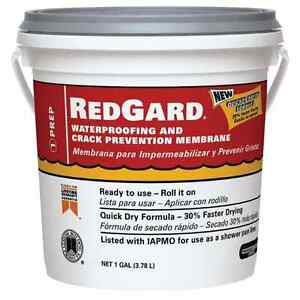 Waterproofing Crack Prevention Membrane Heavy Duty Barrier Stone Tile 1 Gallon