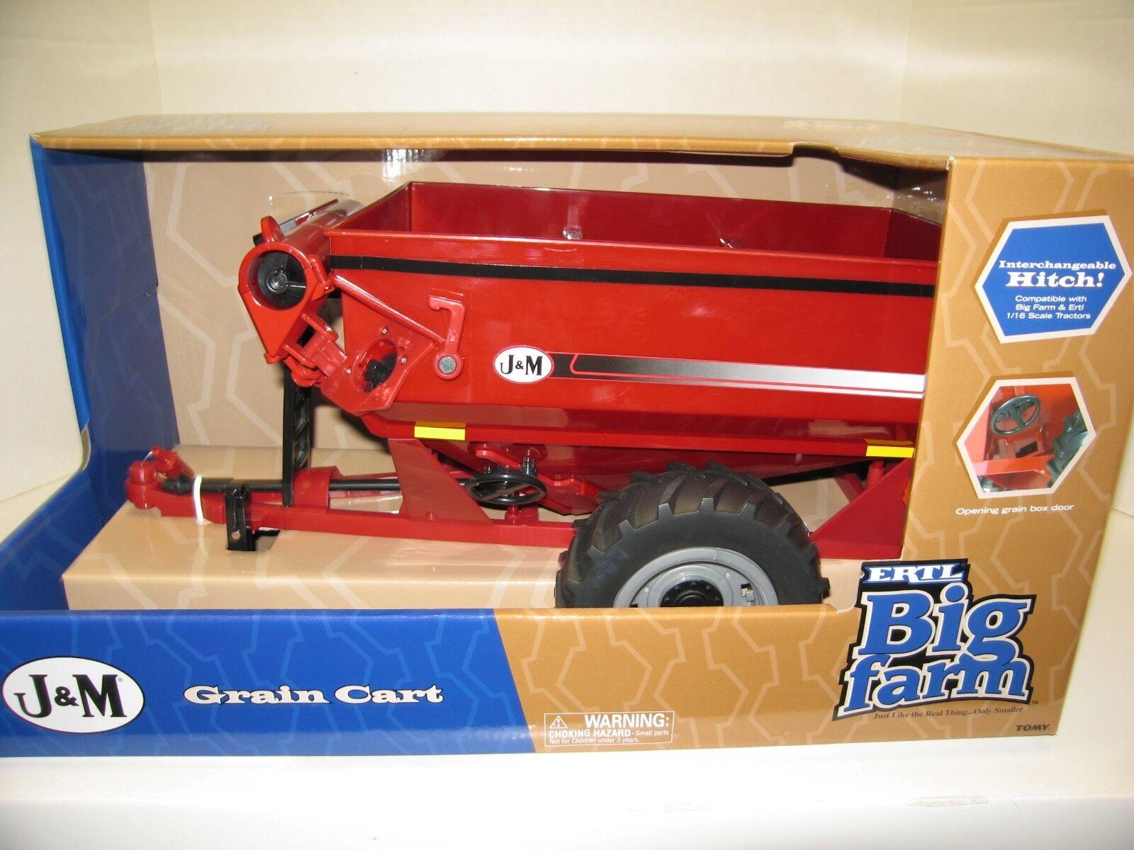 1 16 16 16 J&M 875 GRAIN CART BIG FARM NIB free shipping d1056d