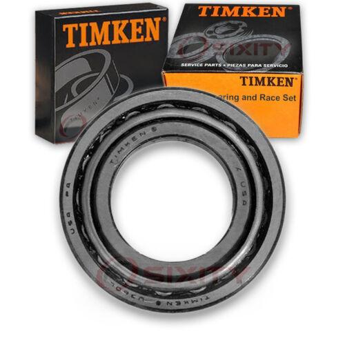 Timken Rear Wheel Bearing & Race Set for 1996-2005 Toyota RAV4 ...