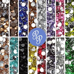 4mm-Rhinestone-Gem-20-Colors-Flatback-Nail-Art-Crystal-Resin-Bead