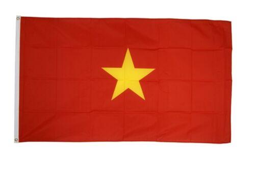 90 x 150 cm Hissflagge Fahne Flagge Vietnam