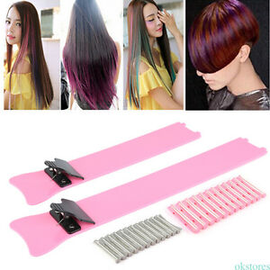 Hair Salon Iron Plastic Hair Dyeing Plate Coloring Board Dye